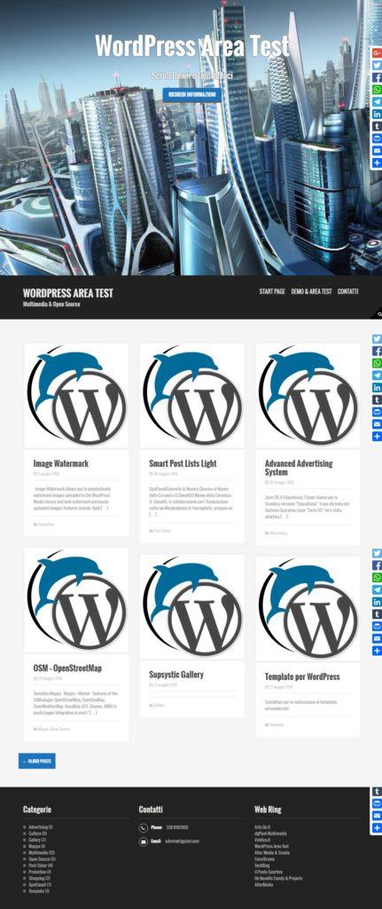 WordPress Area Test_2016