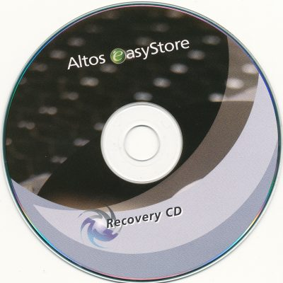 Altos easyStore - Recovery CD