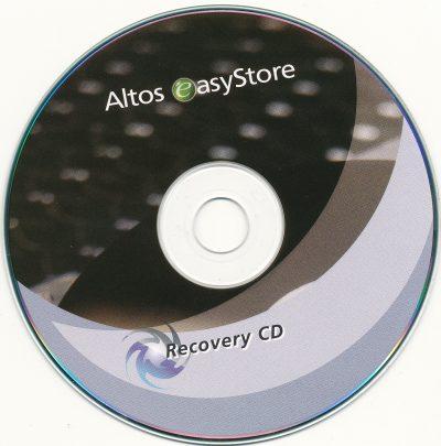 Altos easyStore - Recovery CD