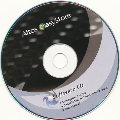 Altos easyStore - Software CD