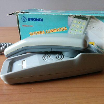 Telefono Brondi 501T - Design Vintage - Grigio