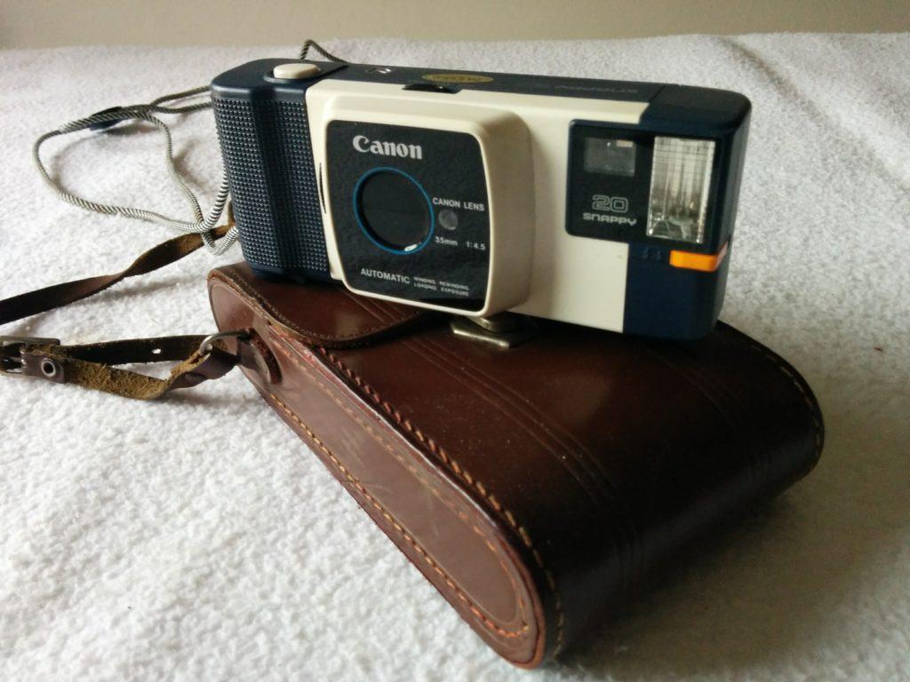 Macchina Fotografica Canon Snappy 20 + Manuale Ita