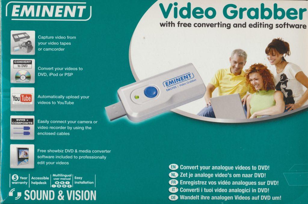 Eminent Video Grabber EM3705