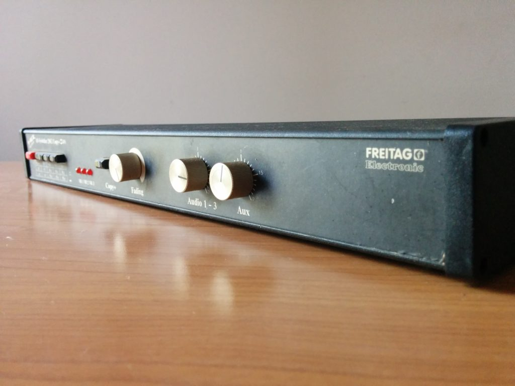 AV-Switcher Freitag Electronic 2962 Copy+SVHS