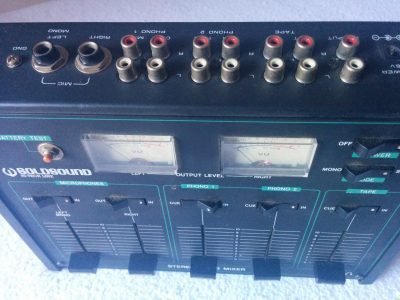Mixer Audio GoldSound GS100