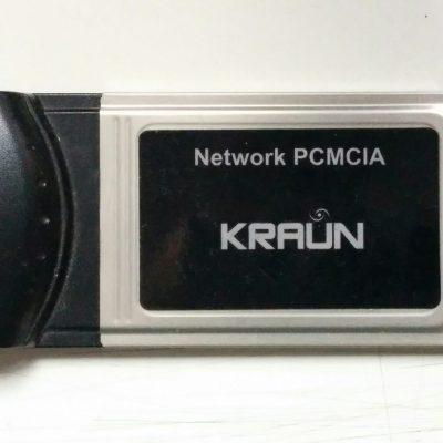 Scheda di Rete Kraun PCMCIA 10/100M