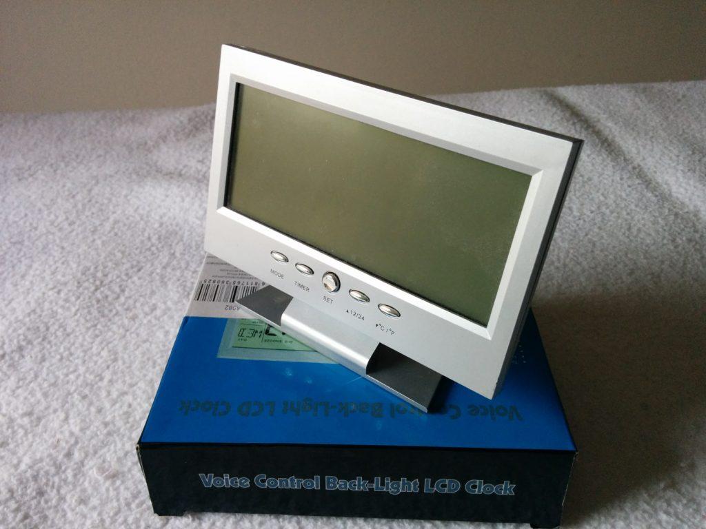 Orologio / Sveglia LCD 8082
