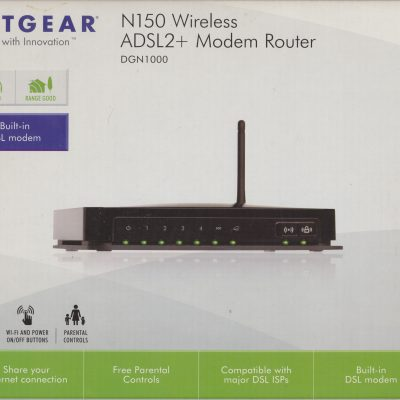 Modem/Router Netgear N150 ADSL2+ WiFi