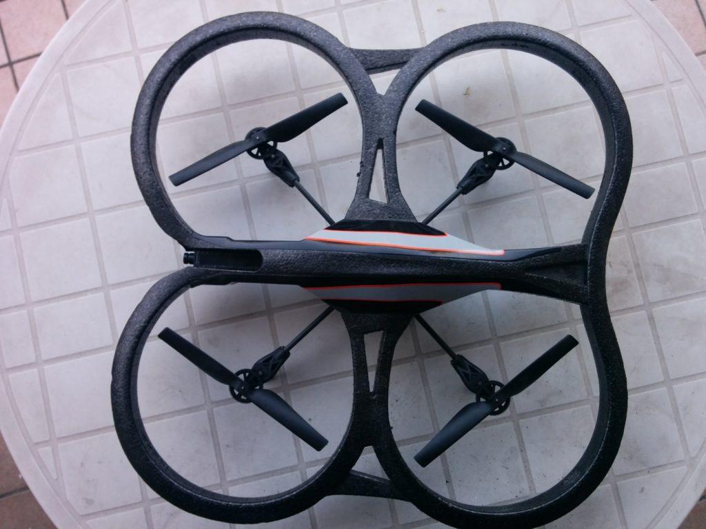 Parrot AR Drone 2.0 Quadricottero, Blu/Arancione