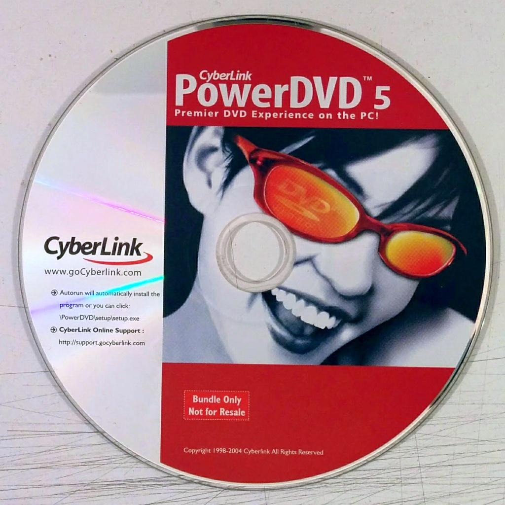 CyberLink PowerDVD 5 (Software)