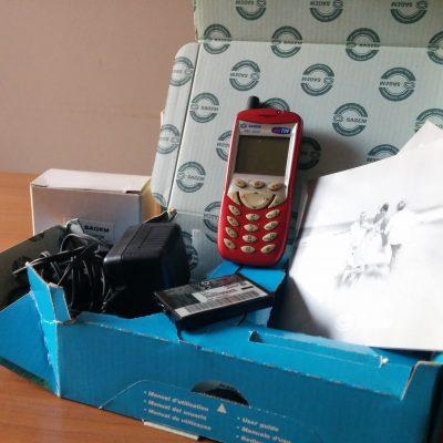 Telefono Sagem MW 3022 (Rosso)