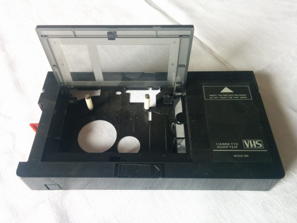 Seleco - Adattatore VHS-C / VHS