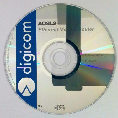 Digicom - ADSL2+ Ethernet Modem Router (Drivers + Manuali)