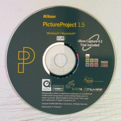 Nikon - PictureProject 1.5 (Software)