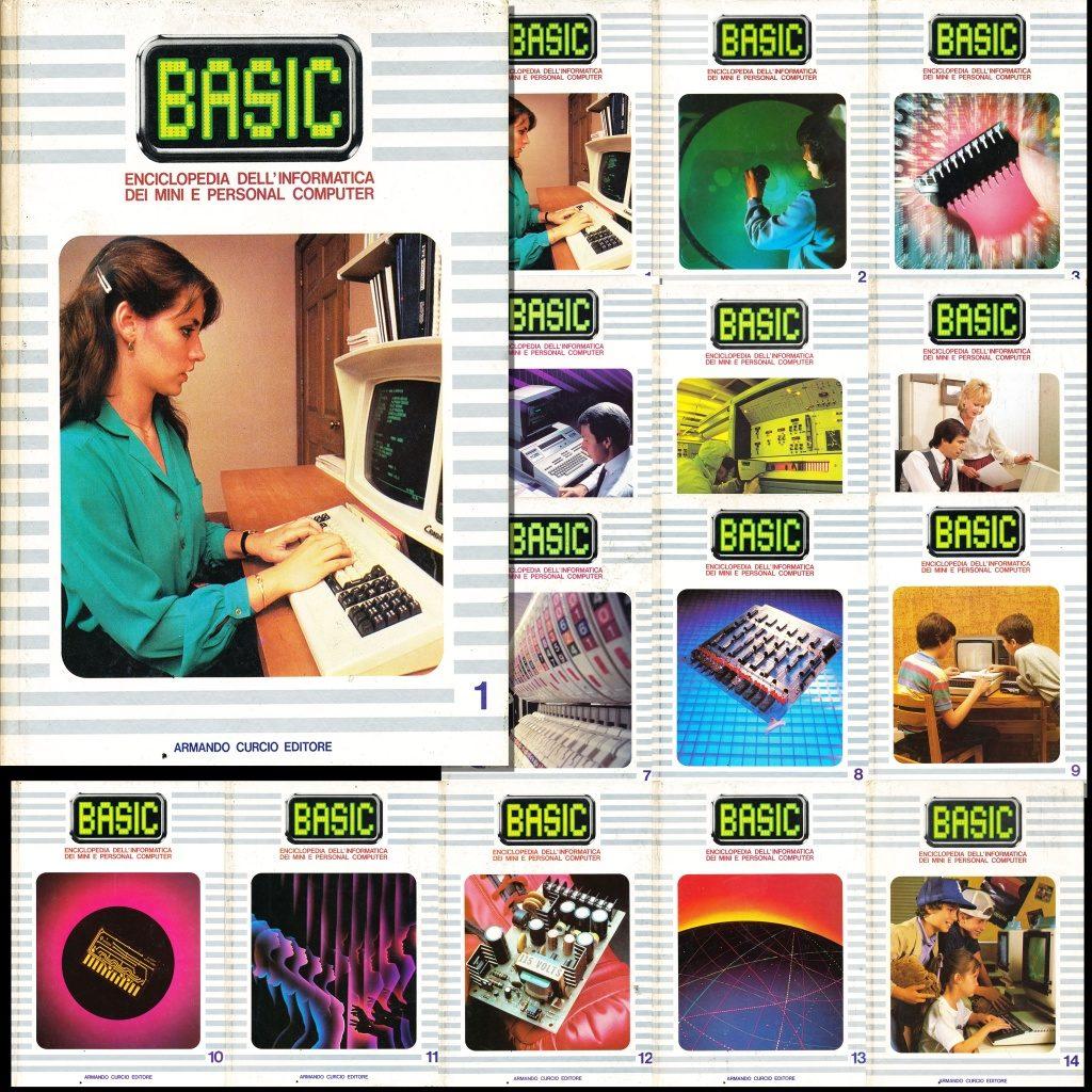 Basic - Enciclopedia dell'Informatica, dei Mini e Personal Computer (14 Volumi)