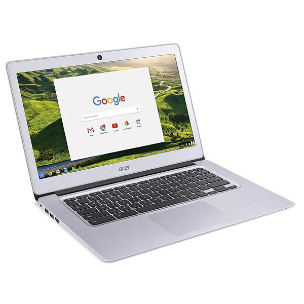 """Acer CB3-431-C1AN Notebook PC, Display da 14"""", N3060, eMMC 32 GB, RAM da 4 GB, Argento [Layout Italiano]"""