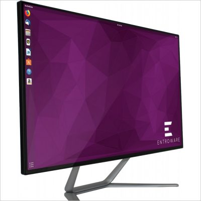 Ares - PC All-In-One, Ubuntu pre-installato, Processore Intel Core-i3 8100 a 3,6 GHz
