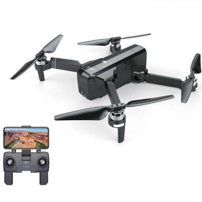 Drone Quadricottero SJRC F11 - Volo assistito, Modalità Follow Me, Controllo remoto