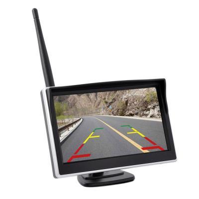 """Sensore di Parcheggio con Telecamera, Schermo 5"""", Certificazione IP68: anti-urto, anti-polvere, impermeabile"""