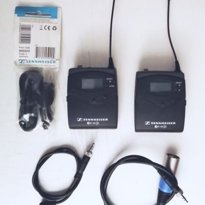 Sennheiser Trasmettitore SK100 G2 + Ricevitore EK100 G2 + Lavalier ME4N