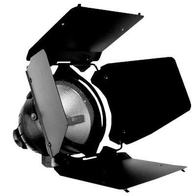 Set Illuminazione 2 Lampade DTS Quartz + 2 Barndoor + 2 Pinze