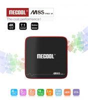 TV Box Android TV - Mecool M8S Pro W, Full-4K, CPU Quad Core, HDMI