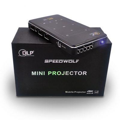 Mini Proiettore Portatile IMK95 DLP - 100 ANSI Lumens, 4K Ultra HD, 8GB/16G