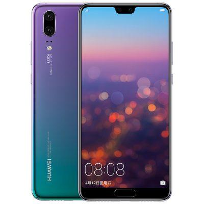 """Smartphone Huawei P20 - Android 8.1, CPU Kirin 970 Octa Core, 6GB RAM, Schermo da 6"""" (Aurora)"""