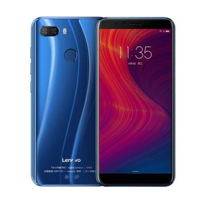 "Smartphone Lenovo K5 Play - Android, 3GB RAM, 32GB ROM, CPU Qualcomm, Schermo da 5.7"" (Blue)"