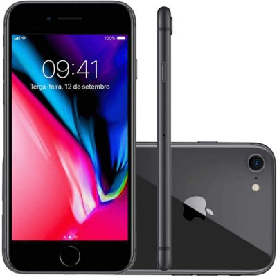 Apple iPhone 8 64GB Grigio Siderale (Ricondizionato)