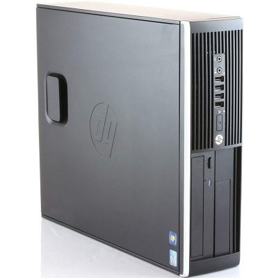 Hp Elite 8300 - PC Computer Desktop (Intel Core i5-3470, 8 GB di RAM, SSD da 480 GB, Windows 10 Pro ES 64 (Ricondizionato)