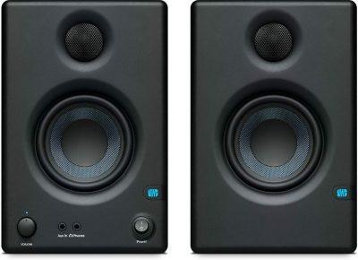 PreSonus Eris E3.5 Monitor di riferimento multimediale professionale con sintonizzazione acustica (coppia)