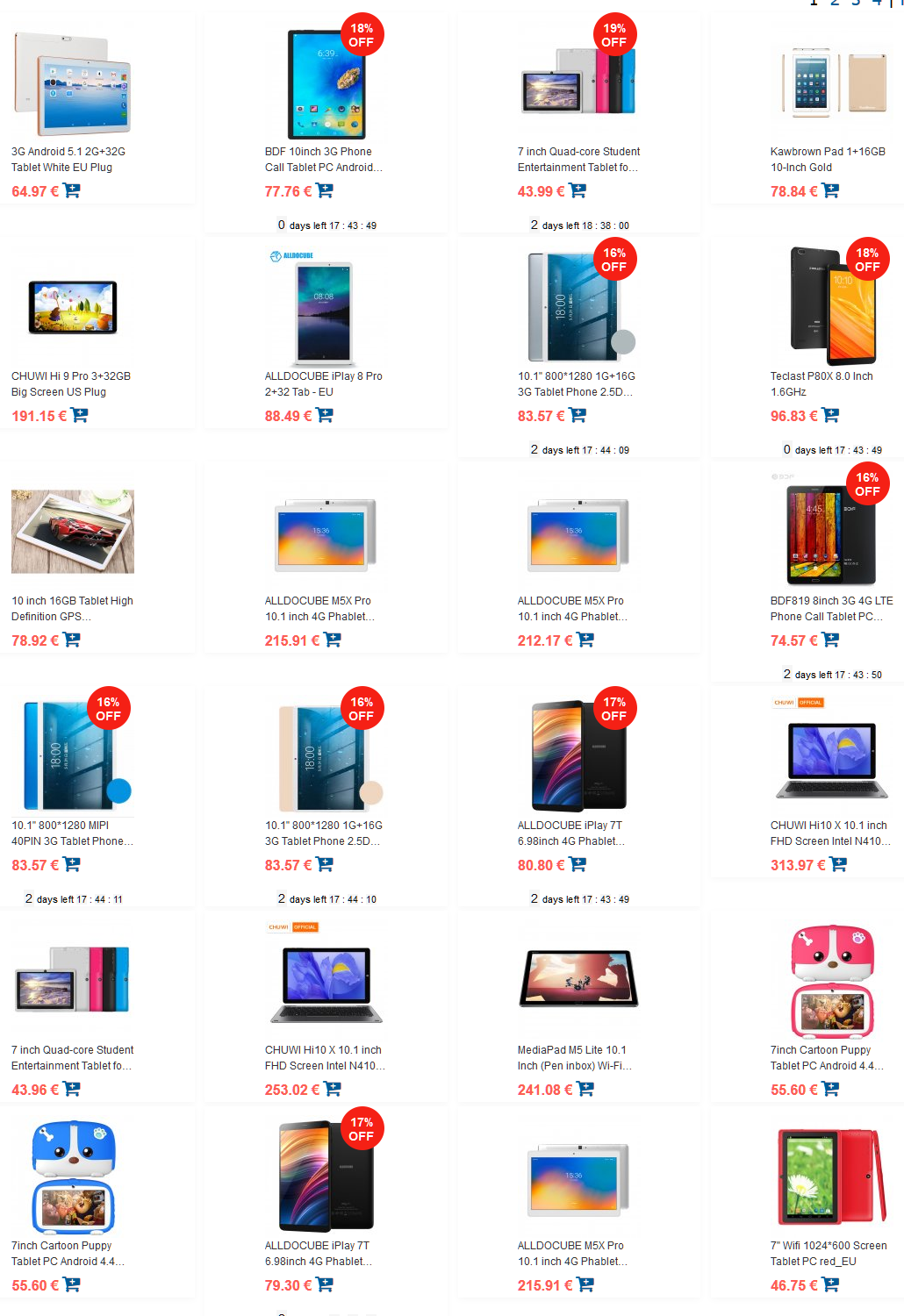 Tablet Android: le migliori offerte online!