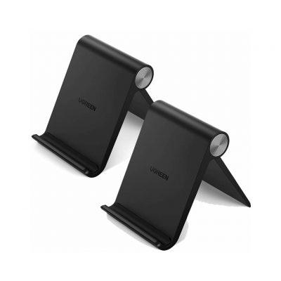 2 Supporti da Tavolo Ugreen per Cellulari - Porta Telefoni e Tablet regolabile 100° - Compatibile con 4-7.9 pollici