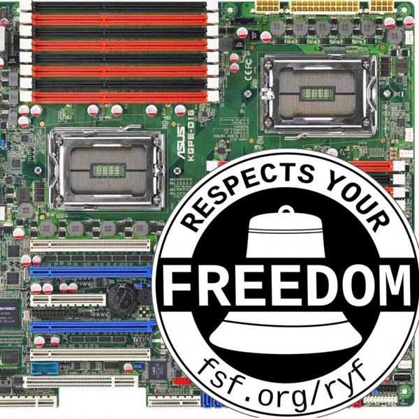 "Altri 6 dispositivi nel catalogo dell'Hardware Libero - ""Respects Your Freedom"""