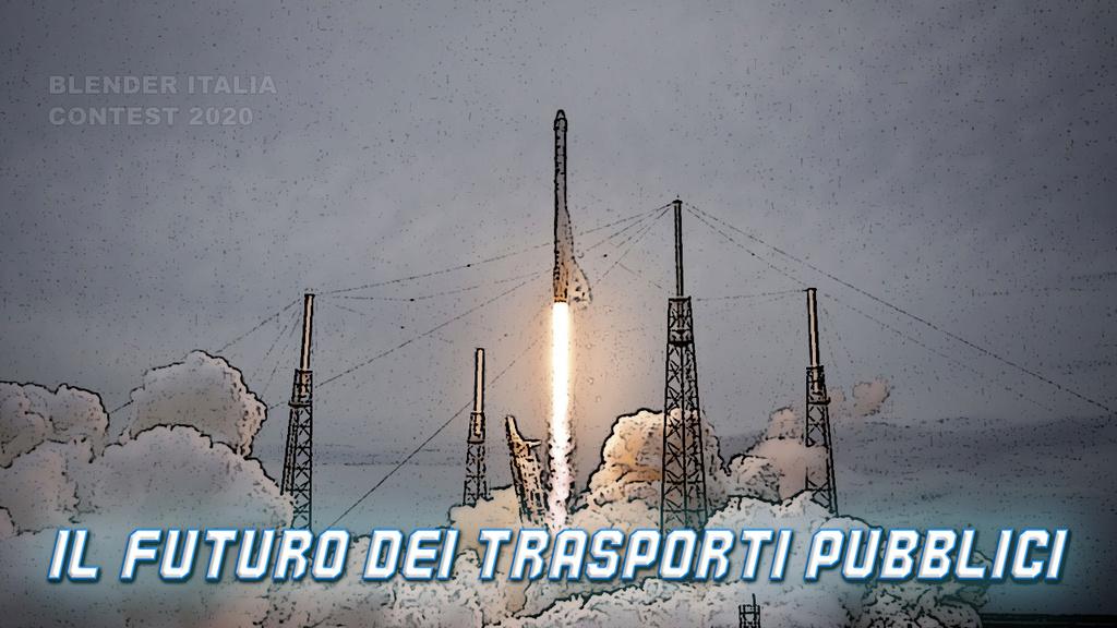 """Concorso Blender Italia: """"Il futuro dei trasporti pubblici"""""""