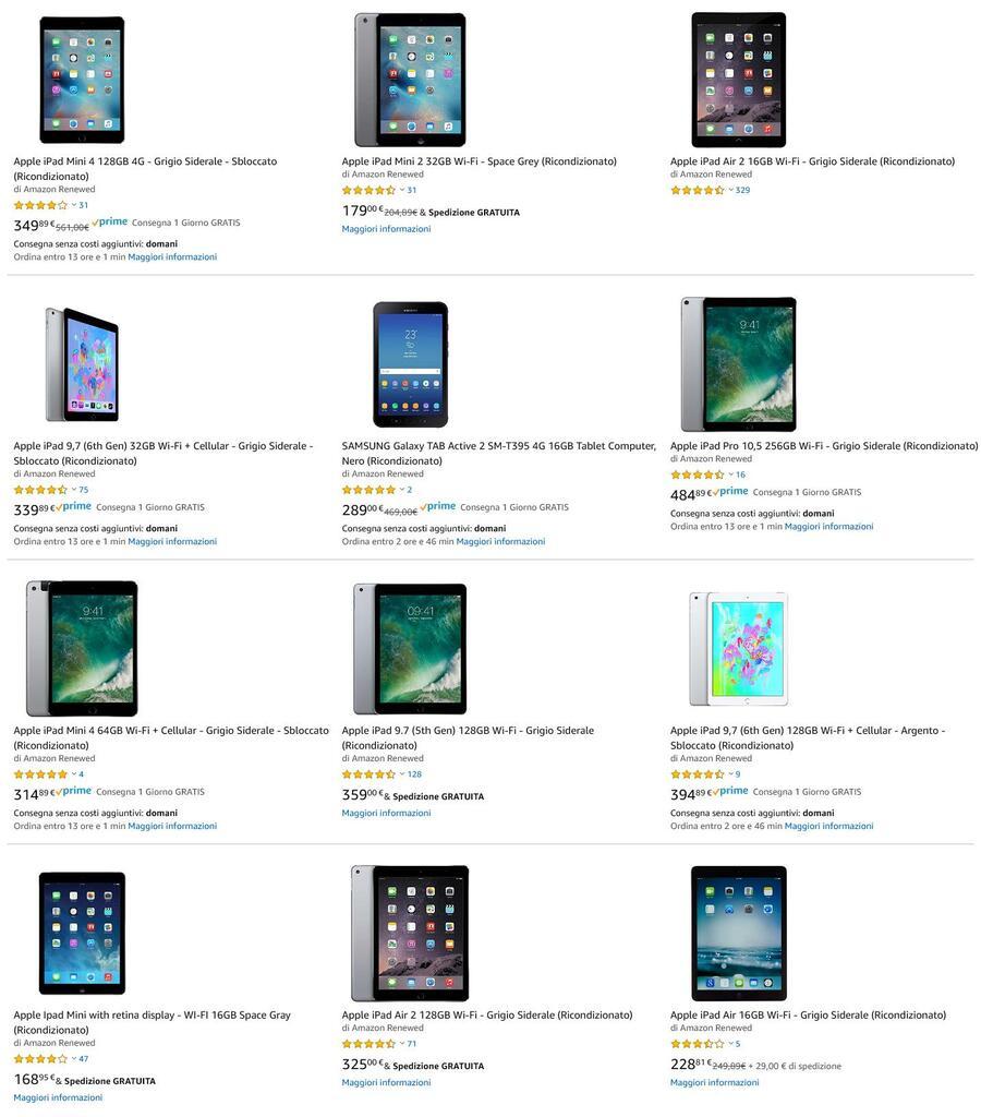 I tablet ricondizionati: come nuovi, garantiti e a ottimi prezzi