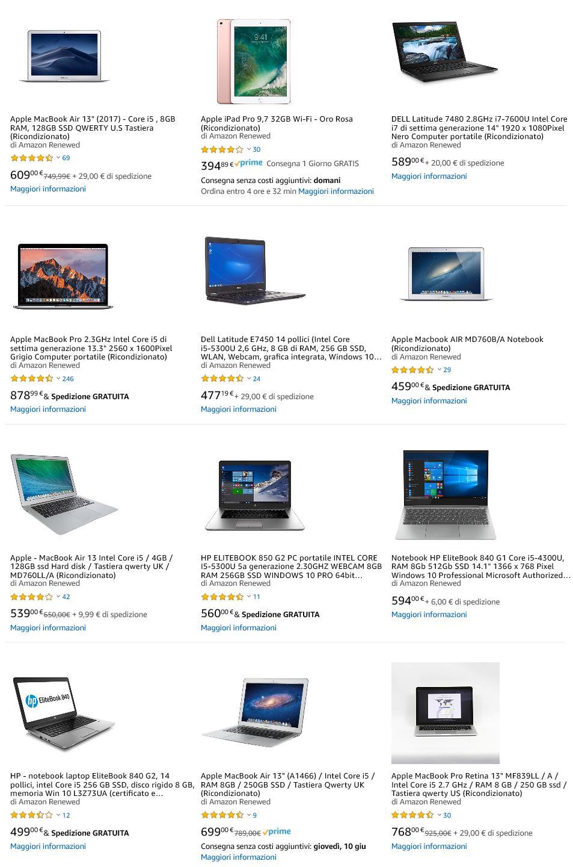 I portatili ricondizionati: come nuovi, garantiti e a ottimi prezzi