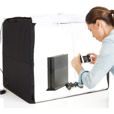 Set fotografico portatile con luci LED integrate ad alte prestazioni