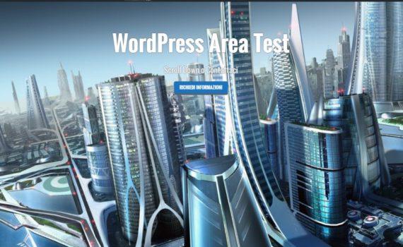 WordPress Area Test