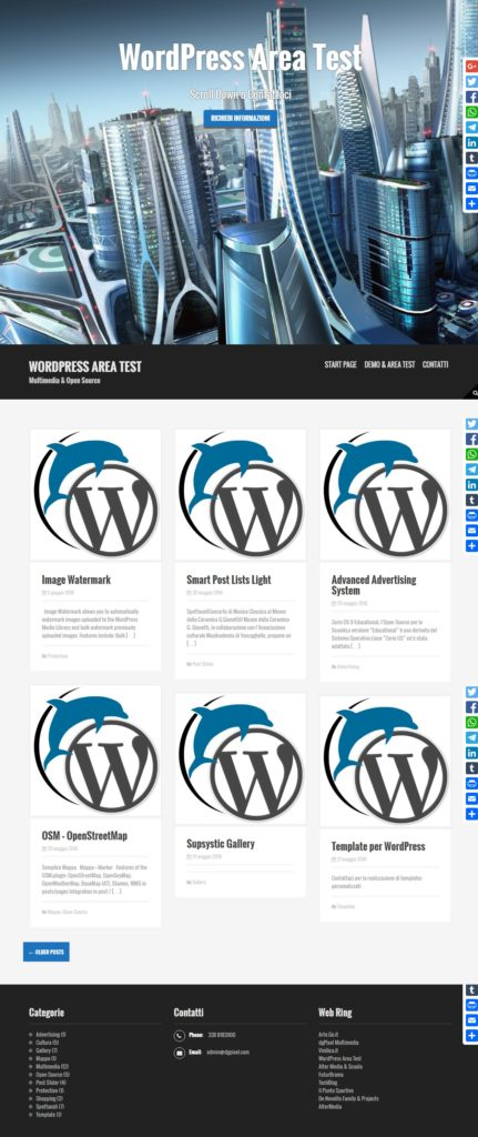 WordPress Area Test_2016