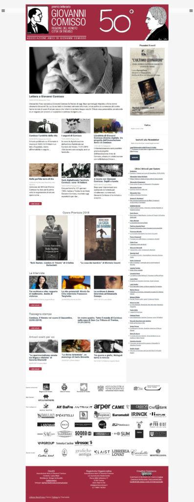 Premio letterario Giovanni Comisso - Screenshot