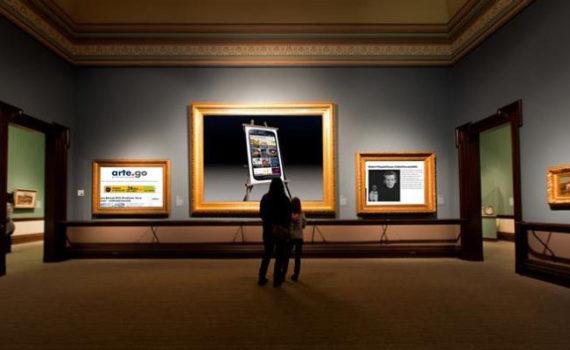 L'Arte? È più leggera, più veloce, più mobile. È arte.go.it!